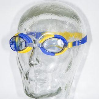 Kinderzwembril Kids blauw-geel
