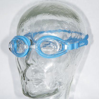 Zwembril Basic lichtblauw