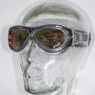 Watersportbril Mariner transparant zwart-UV glazen