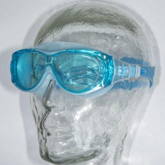 Watersportbril Mariner junior azuurblauw-gekleurde glazen